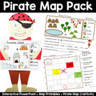 Map Pack: Arr You Ready to Learn About Maps? {Pirate Theme}