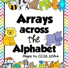 Arrays across the Alphabet 2.OA.4