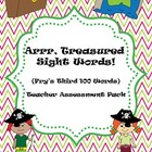 Arrr, Treasured Sight Words! {Fry's third 100 words} Teach