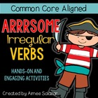 Arrrsome Irregular Verbs {Common Core Aligned}