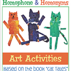 Art Activities: Homophones and Homonym