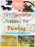 Art Appreciation Printables For Painting for young children.