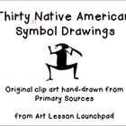 Art Clip Art: Native American Drawings from Primary Sources