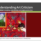 Art Criticism Powerpoint