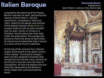 Art History: Baroque Art - 133 SLIDES!!