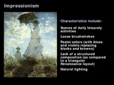 Art History: Impressionism - MUST USE!