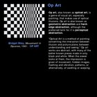 Art History: Op Art & Environmental Art
