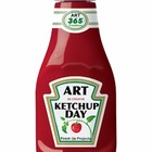Art Ketchup Day Sign