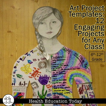 Art Projects for any Curriculum-Adapt 11 engaging, fun art