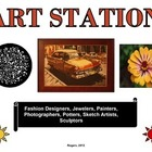 Art Station: Learning Center Label