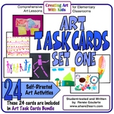 Art Task Cards - Set 1