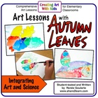 Art Lessons With Autumn Leaves