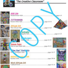 "Art book ""the creative classroom"" - common core content (6"
