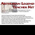 Arthurian Legend Teacher Kit Lesson Plan Test