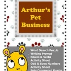 Arthur's Pet Business / Writing Prompt / Nouns and Verbs