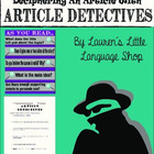 Article Detectives