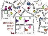 Spanish Clothing Vocabulary Puzzle