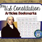 Articles of the U.S. Constitution Bookmarks