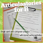 ArticulaStory for R Articulation Therapy