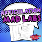 Articulation Mad Libs