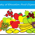 Artistry of Education Fruit Clipart