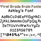Ashley&#039;s Font for Personal and Commercial Use (Free!)