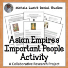 Asian Empires Important People Facebook-like Activity