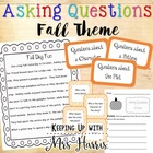 Asking Questions - Fall Themed Sort