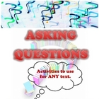 Asking Questions Package - Activities to Use for ANY Text