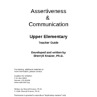 Assertiveness &amp; Communication by Sherryll Kraizer, PhD