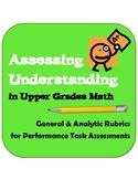 Assessing Understanding: General and Analytic Rubrics for