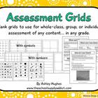 Assessment Grids for Any Content & Level
