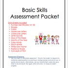 Assessment Packet:  Basic Skills