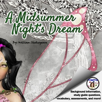 Assorted Handouts and Activities for A Midsummer Night's Dream