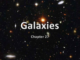 Astronomy: Galaxies