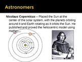Astronomy Unit Notes and Powerpoint