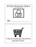 At The Grocery Store Mini Book