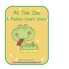 At The Zoo Pocket Chart Story