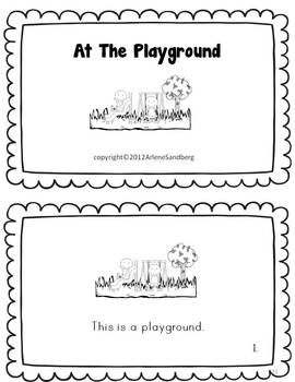 At the Playground Shared and Mini Books