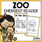 At the Zoo Book {Emergent Reader}