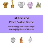 At the Zoo Place Value Game