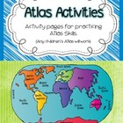 Atlas Activities -Reference Skills Practice (1-6)