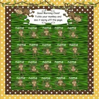 Attendance Monkey Interactive Smartboard Morning 30, 20, &amp;