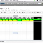 Attendance Spreadsheet in Google Docs - Handy to keep trac