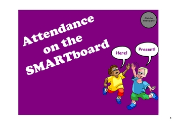 Attendance on the SMARTboard - 10 Different Themes
