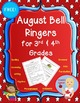 August Bell Work for 3rd & 4th Grade