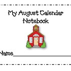 August Calendar Journal Pages *New for 2014*