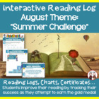 August Reading Olympics Activity