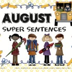 August Super Sentences