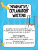 August/Back to School Writing Activities Aligned to Common